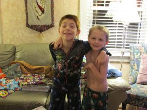 Joshua and Nathan