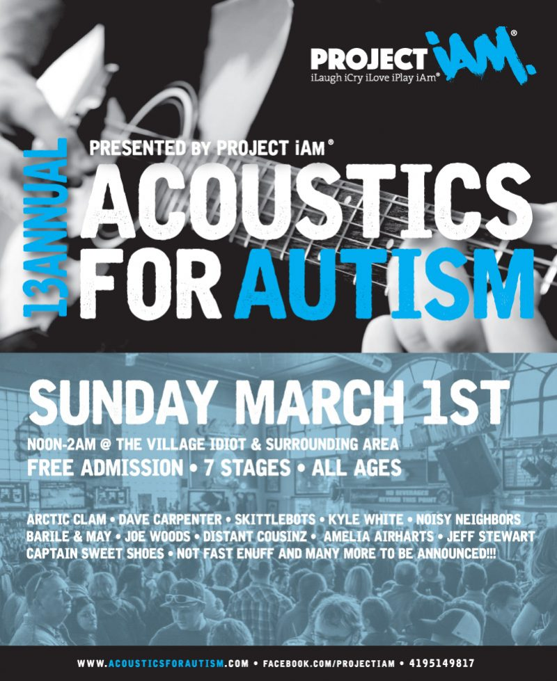 13th Annual Acoustics for Autism